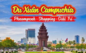 Tham quan Campuchia | Pnomphenh 2N1Đ
