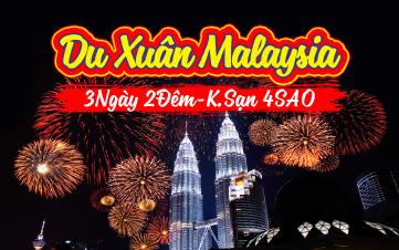 Du lịch Malaysia 4SAO 3N2Đ khởi hành 29,30 MÙNG 1,2,3 TẾT 2018