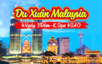 Du lịch Malaysia cao cấp 5SAO 4N3Đ Khởi hành 29,30 MÙNG 1,2,3 TẾT 2018