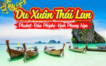 Du lịch Thái Lan Thiên đường Phuket 4N3Đ khởi hành MÙNG 3 TẾT 2018