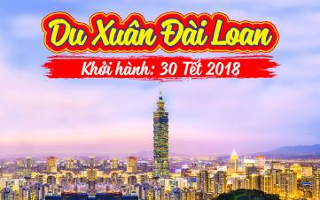 Du lịch Đài Loan | Đài Bắc | Đài Trung | Nam Đầu 5N4Đ TẾT
