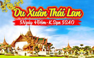 Du lịch Thái Lan Khởi Hành 28,29,30 Mùng 1,2,3,4,5,6,7,8,9,10 Tết 2018