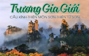 KHÁM PHÁ TRƯƠNG GIA GIỚI | Thiên Môn Sơn - Hồ Bảo Phong - Cầu Kính