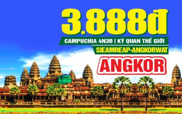 Tour du lịch Campuchia Lễ 2/9 | Siemreap | Angkor Wat | Thủ Đô Phnompenh |  4N3Đ