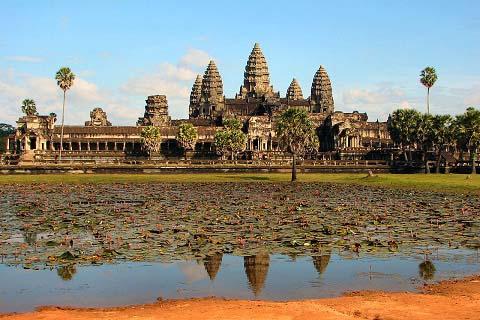 Đền Angkor Wat - Niềm tự hào của người Campuchia