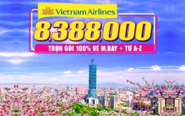 Du lịch Đài Loan RẺ NHẤT | Cao cấp 4SAO | 4N3Đ