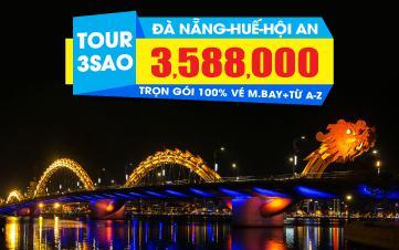 Du lịch Đà Nẵng | Huế | Bà Nà Hills | Hội An 3N2Đ