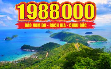 Khám phá quần đảo Nam Du | Rạch Giá | Miếu Bà Chúa Xứ 4N3Đ