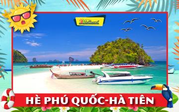 Du lịch Hè Phú Quốc | Hà Tiên | Rạch Giá | Châu Đốc 3N2Đ