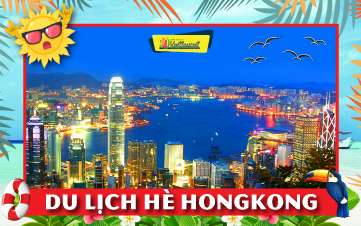 Du lịch Hongkong Dịp Hè Disneyland | Đại Nhĩ Sơn 3N2Đ