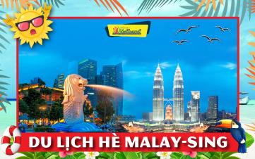 Du lịch Malaysia - Singapore Hè Khám Phá Kualalumpur | Malacca | Joho City 4N3Đ