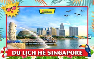 Du Lịch Singapore Hè Gardens by the Bay | Sentosa | Botanic 3N2Đ