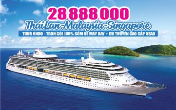 Du thuyền 5SAO Singapore | Malaysia - Penang - Langkawi | Phuket - Thái Lan