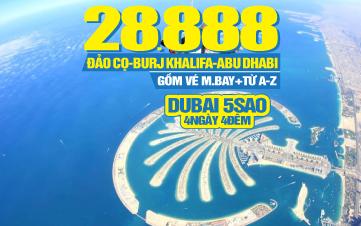 Tour du lịch Dubai   Abu Dhabi   4N4Đ