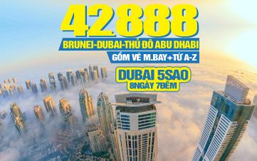 Tour du lịch Brunei   Dubai   Abu Dhabi   8N7Đ