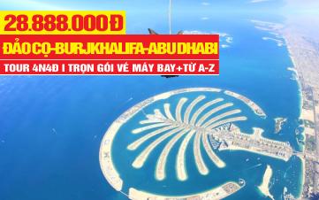 Tour du lịch Dubai | Abu Dhabi | 4N4Đ