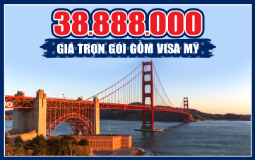 Bờ Tây Hoa Kỳ: Los Angeles – Las Vegas – Grand Canyon- Hoover Dam -San Francisco – San Jose