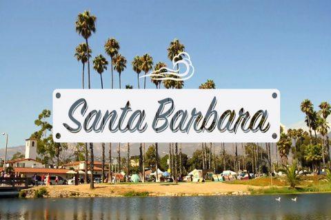 Đến California, hãy ghé thăm thành phố biển Santa Barbara