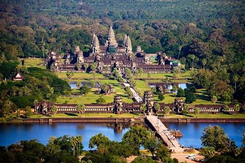 10 Điểm đến hút khách du lịch hàng đầu Campuchia