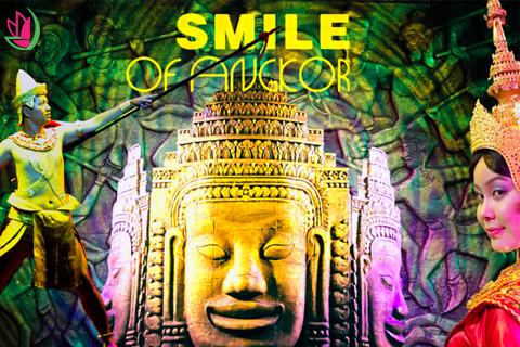 DU LỊCH CAMPUCHIA VÀ THƯỞNG THỨC SHOW DIỄN SMILE OF ANGKOR