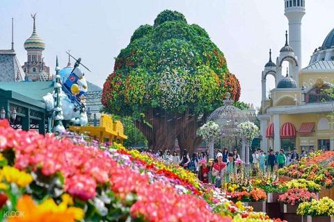 Everland – Thiên đường giải trí lớn nhất Xứ sở Kim chi