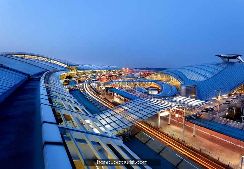 du lịch Hàn Quốc sân bay quốc tế