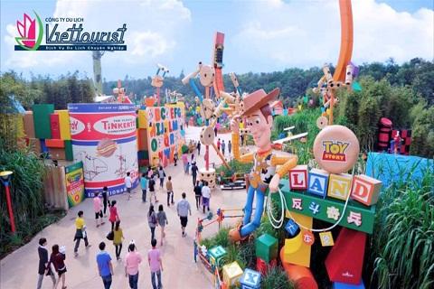 Disneyland Hồng Kông – Thế giới thần tiên đa sắc màu