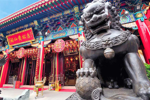 HUỲNH ĐẠI TIÊN – Ngôi đền linh thiêng nhất Hồng Kông