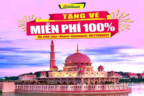 Du lịch Malaysia miễn phí cùng Viettourist