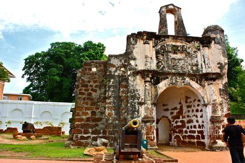 A'Famosa – Kiến trúc châu Âu lâu đời nhất ở Châu Á