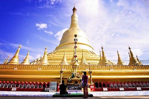 Đến Myanmar viếng chùa Shwemawdaw