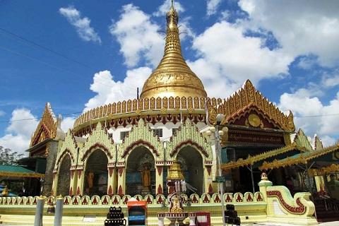 Du lịch Myanmar: Khám phá chùa hòa bình thế giới Kaba Aye