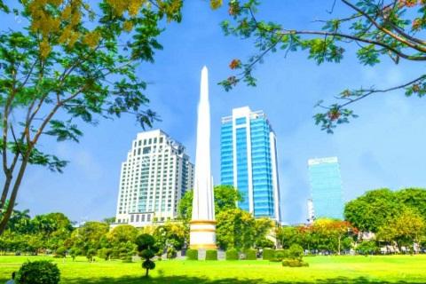 Công viên Bandoola, mảng xanh tươi giữa thành phố Yangon Myanmar