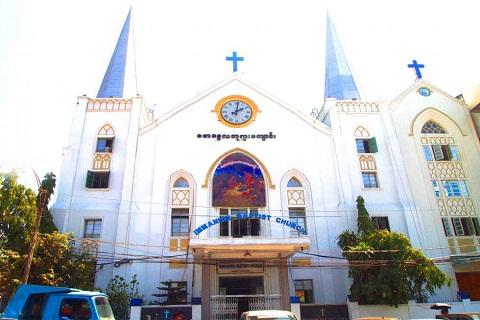 Immanuel Baptist Church - Nhà thờ baptist cổ nhất Myanmar
