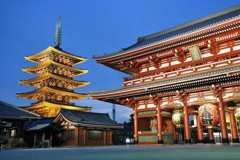 Khám phá Ngôi đền linh thiêng nhất Nhật Bản Asakusa Kannon