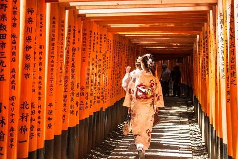 Khám phá Ngôi đền ngàn cột Fushimi Inari nổi tiếng tại cố đô Kyoto