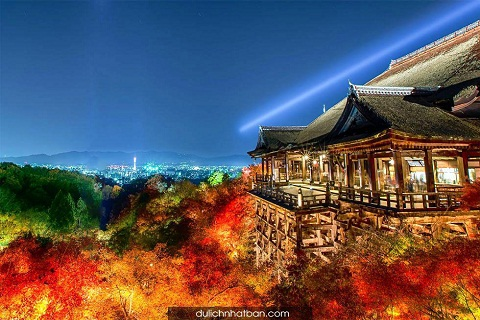 Du lịch Nhật Bản: Cầu duyên tại Chùa Thanh Thủy (Kiyomizu-dera)