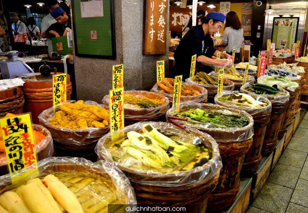 du-lich-nhat-ban-Kyoto-Nishiki