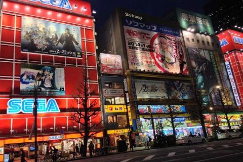 Tham quan Akihabara Nhật Bản - Khu phố điện tử hàng đầu thế giới