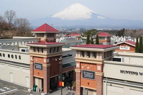 Gotemba Premium Outlets – Trung tâm mua sắm nổi tiếng Nhật Bản