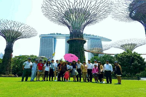 Tổng hợp hình ảnh tour du lịch Singapore : Tháng 8 sôi động cùng Viettourist