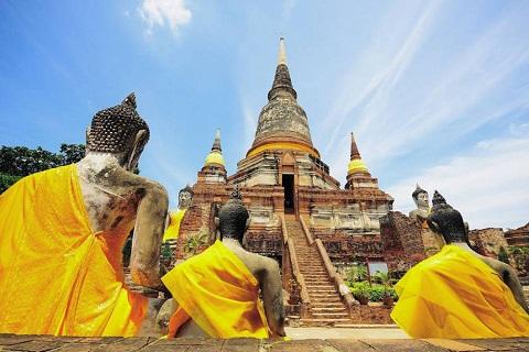Du lịch Thái Lan: Khám phá cố đô Ayutthaya huyền bí