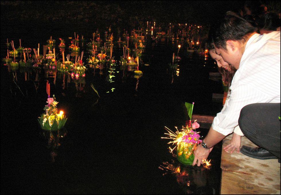 du lịch Thái Lan lễ hội Loi Krathong