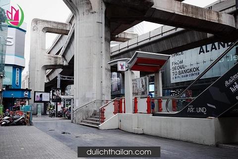 Quảng trường mua sắm Siam ở Bangkok