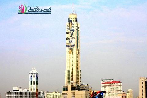 Baiyoke center – Tòa nhà 88 tầng cao nhất Thái Lan