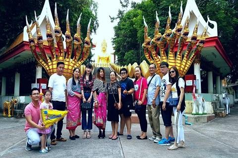 Tổng hợp hình ảnh tour Thái Lan : Tháng 10 sôi động cùng Viettourist