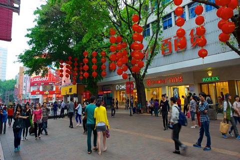 Đại lộ Bắc Kinh, điểm tham quan mua sắm thú vị tại Quảng Châu