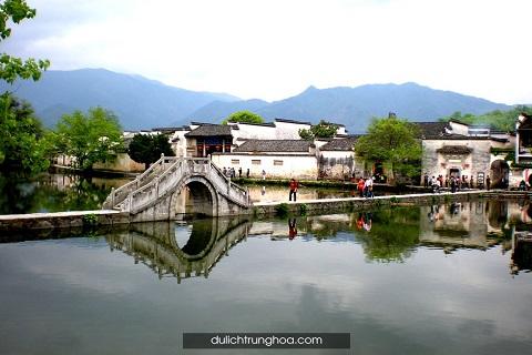 Hoành Thôn, ngôi làng trong tranh dưới chân núi Hoàng Sơn, An Huy