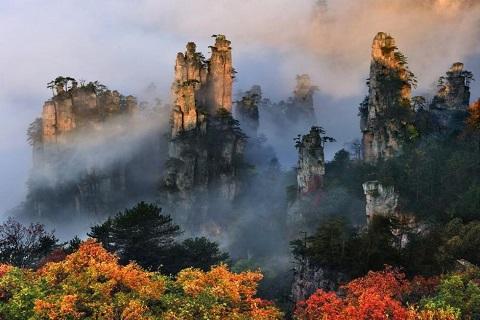 Về Hồ Nam thăm công viên quốc gia Trương Gia Giới