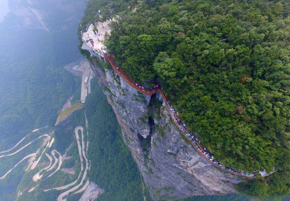 du lịch Trương Gia Giới Thiên Môn Sơn